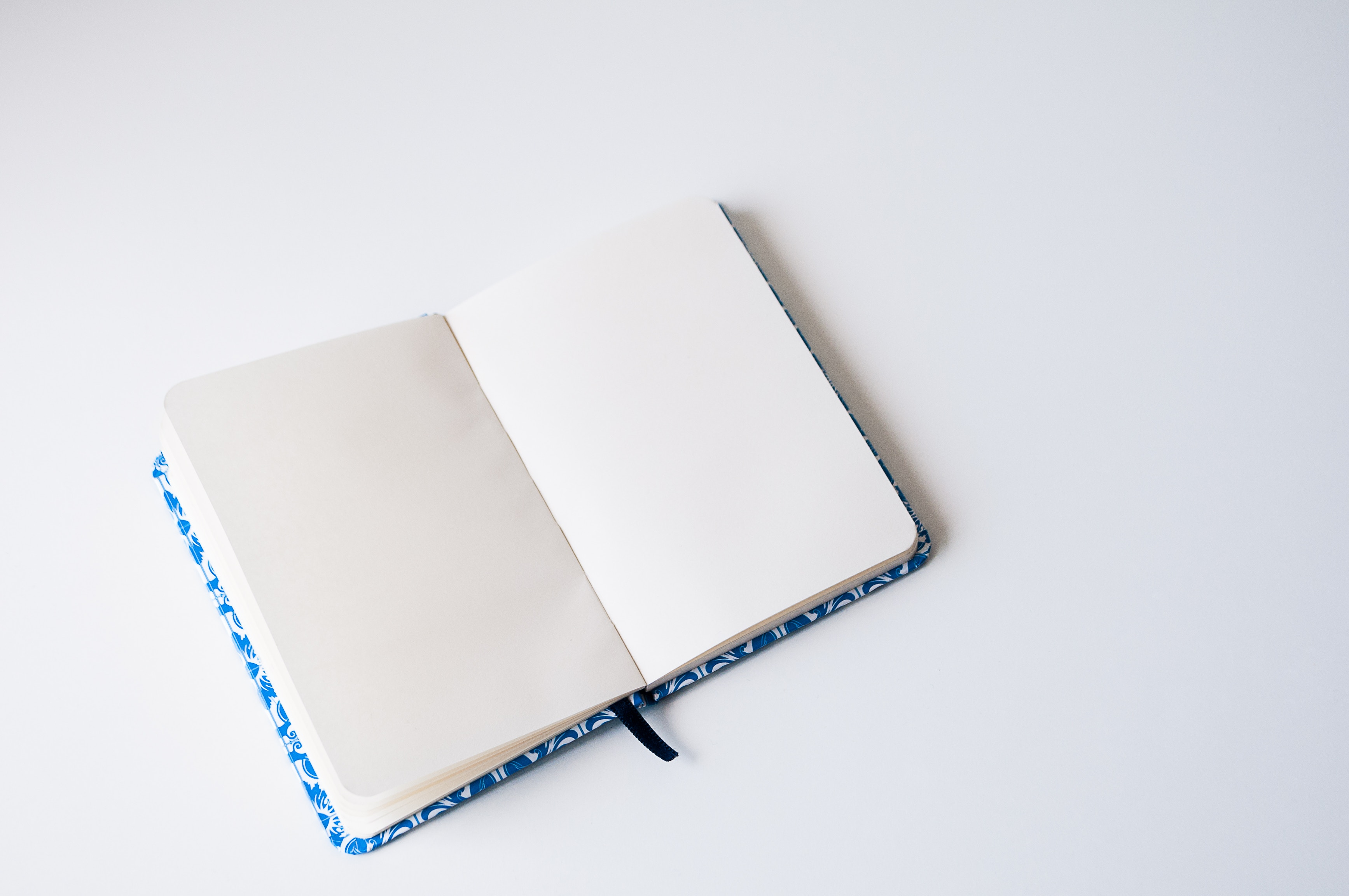 blank notebook journal